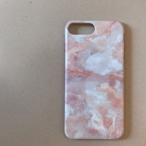 Accessories - Pink Marble 7 Plus iPhone Case